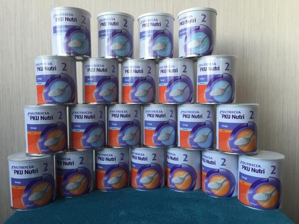 Новая линейка лечебных смесей Nutricia